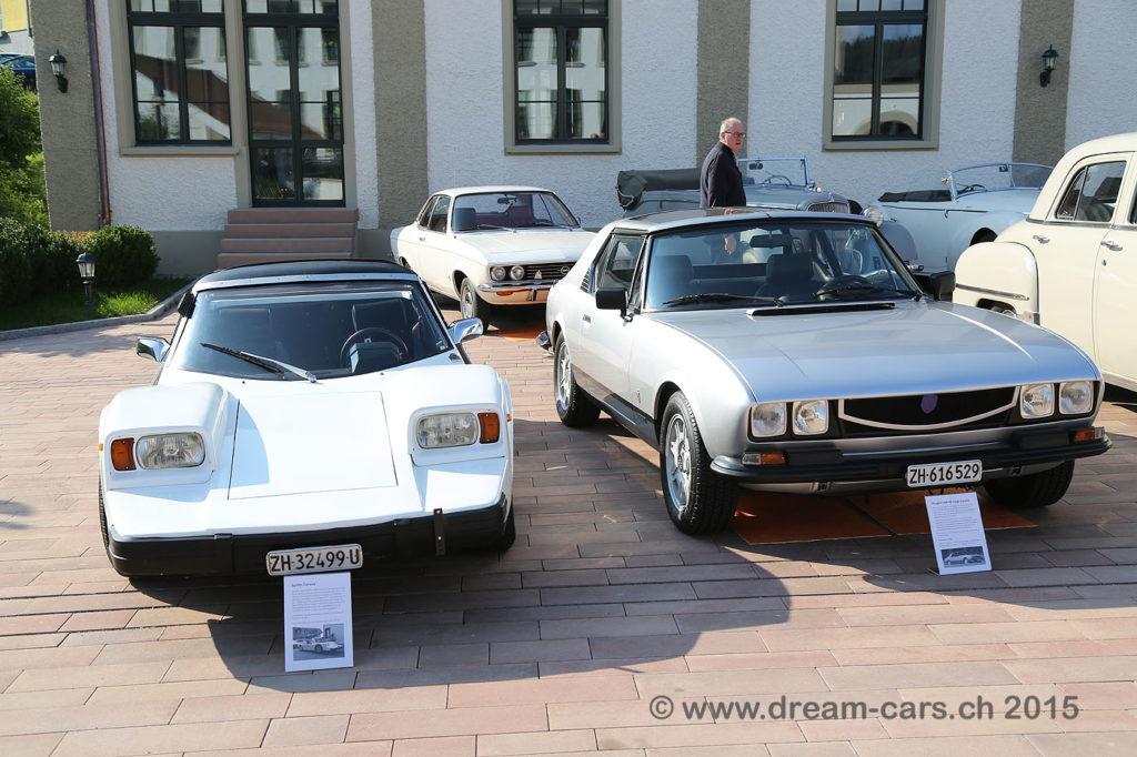 spider und Peugeot Caruna